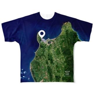 北海道 稚内市 Tシャツ 両面 フルグラフィックTシャツ