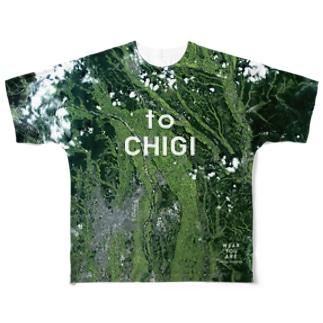 栃木県 塩谷郡 Tシャツ 両面 Full graphic T-shirts