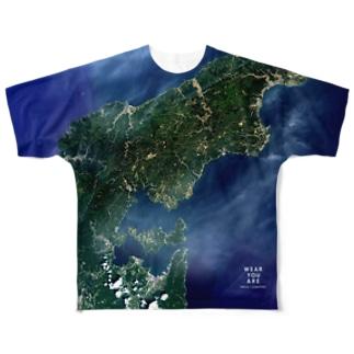 石川県 鳳珠郡 Tシャツ 両面 フルグラフィックTシャツ