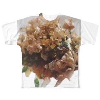 OKONOMIYAKI Full graphic T-shirts