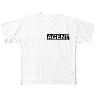 エージェントパーカー Full graphic T-shirts
