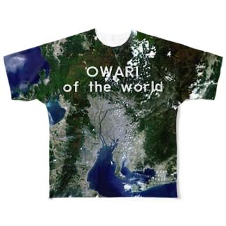愛知県 一宮市 Tシャツ 両面 Full graphic T-shirts