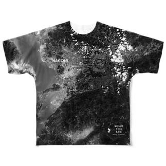 熊本県 上益城郡 Tシャツ 両面 Full graphic T-shirts