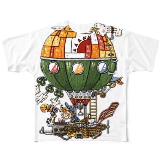 気球 Full graphic T-shirts