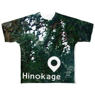 宮崎県 東臼杵郡 Tシャツ 両面 Full graphic T-shirts