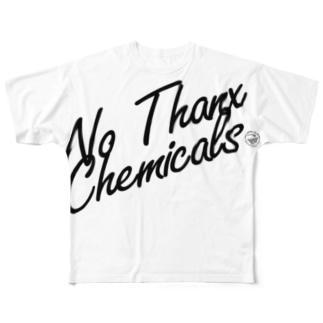 No Thanx Chemicals Full graphic T-shirts