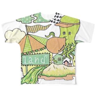 TACOLAND フルグラフィックTシャツ