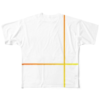 The Border-TATEYOKO Full graphic T-shirts
