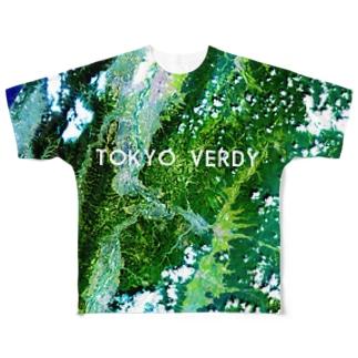 新潟県 小千谷市 Tシャツ 両面 Full graphic T-shirts