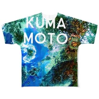熊本県 熊本市 Tシャツ 両面 フルグラフィックTシャツ