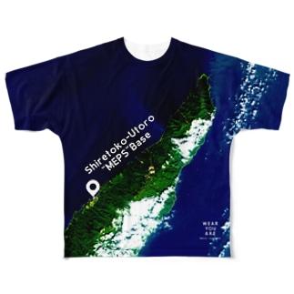 北海道 斜里郡 Tシャツ 両面 Full graphic T-shirts