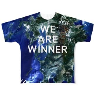 熊本県 上天草市 Tシャツ 両面 Full graphic T-shirts