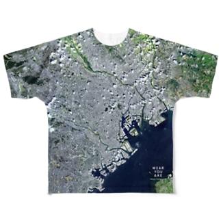 東京都 渋谷区 Tシャツ 両面 Full graphic T-shirts