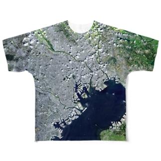 東京都 中央区 Tシャツ 両面 Full graphic T-shirts