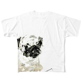 pug_x Full graphic T-shirts
