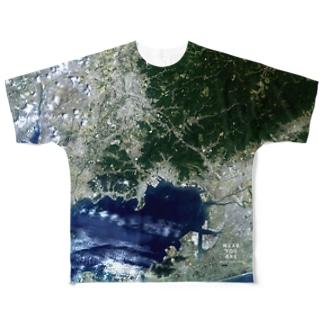 愛知県 蒲郡市 Tシャツ 両面 Full graphic T-shirts