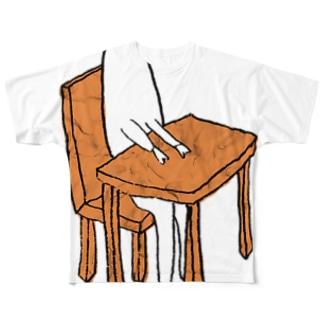 着席する Full graphic T-shirts