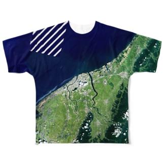 新潟県 新潟市 Tシャツ 両面 Full graphic T-shirts
