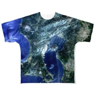鹿児島県 鹿児島市 Tシャツ 両面 Full graphic T-shirts
