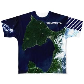 青森県 むつ市 Tシャツ 両面 Full graphic T-shirts