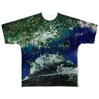 日本 Tシャツ 両面 Full graphic T-shirts