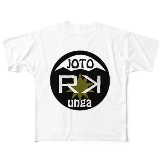 R K   フルグラフィックTシャツ