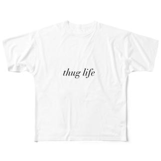 thug life Full graphic T-shirts