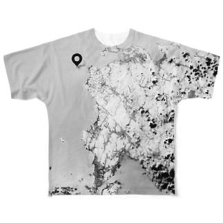 山口県 下関市 Tシャツ 両面 Full graphic T-shirts