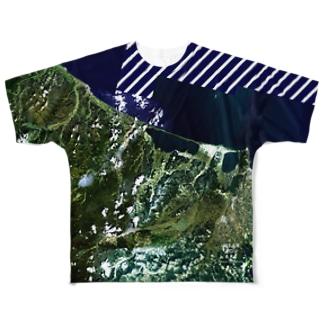 北海道 常呂郡 Tシャツ 両面 フルグラフィックTシャツ