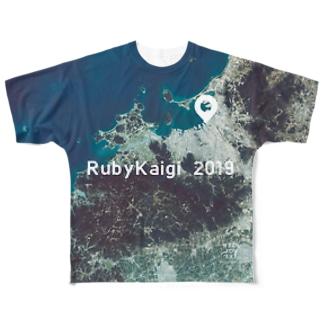 福岡県 福岡市 Tシャツ 両面 フルグラフィックTシャツ