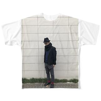 nakajijapan  フルグラフィックTシャツ