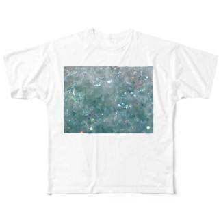 キラキラ フルグラフィックTシャツ