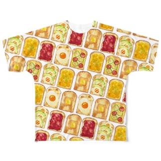 トーストTシャツ Full graphic T-shirts