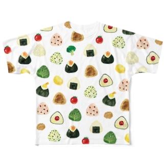おにぎりT Full graphic T-shirts
