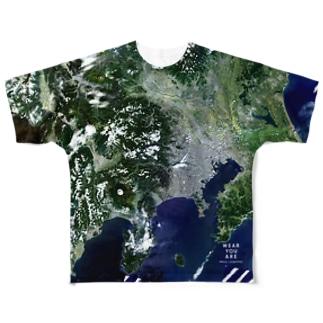 神奈川県 相模原市 Tシャツ 両面 Full graphic T-shirts