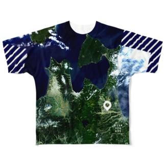 青森県 十和田市 Tシャツ 両面 Full graphic T-shirts
