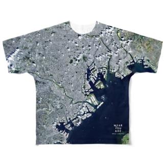東京都 品川区 Tシャツ 両面 Full graphic T-shirts