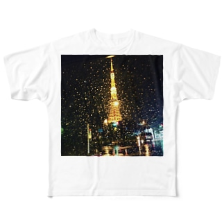 tokyotawer Full graphic T-shirts
