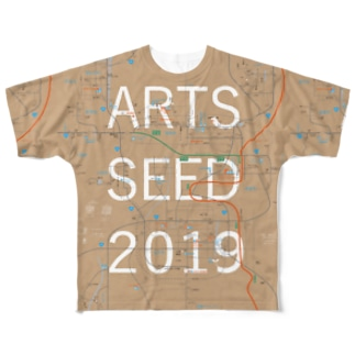 ASO2019マップ Full graphic T-shirts
