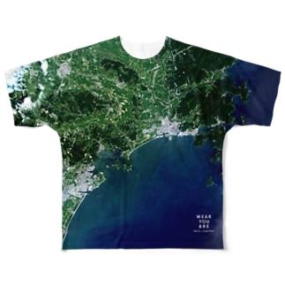 宮城県 東松島市 Tシャツ 両面 Full graphic T-shirts