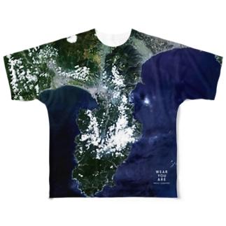 静岡県 伊豆市 Tシャツ 両面 Full graphic T-shirts