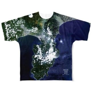 静岡県 伊豆市 Tシャツ 両面 Tシャツ 両面 Tシャツ 両面 Full graphic T-shirts