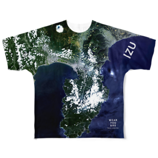 WEAR YOU AREの静岡県 伊豆の国市 Tシャツ 両面 Tシャツ 両面 Tシャツ 両面 Full graphic T-shirts