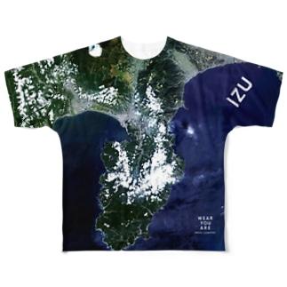 静岡県 伊豆の国市 Tシャツ 両面 Full graphic T-shirts