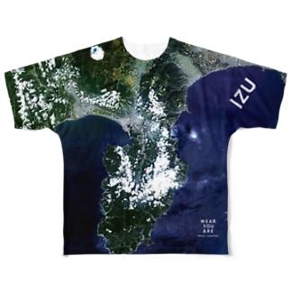 静岡県 伊豆の国市 Tシャツ 両面 Tシャツ 両面 Full graphic T-shirts