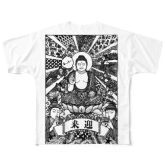 来迎 Full graphic T-shirts