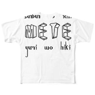 METE Full graphic T-shirts