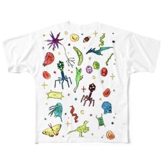 生物学 Full graphic T-shirts