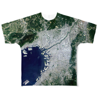 WEAR YOU AREの大阪府 大阪市 Tシャツ 両面 Full graphic T-shirts