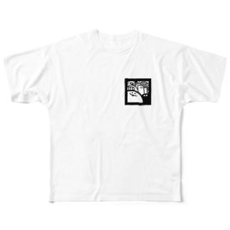 まとまり Full graphic T-shirts